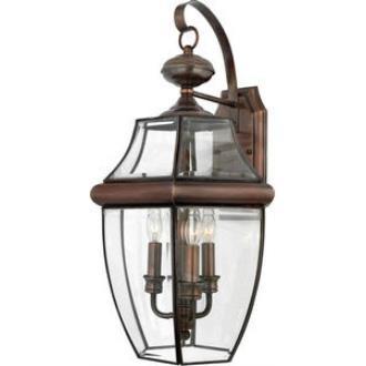 Quoizel Lighting NY8318AC Newbury - Three Light Large Wall Lantern