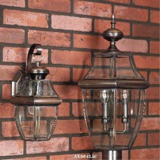 Quoizel Lighting NY9043AC Newbury - Three Light Large Post Lantern
