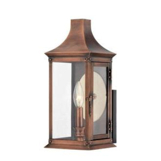 Quoizel Lighting SLM8306AC Salem - One Light Small Outdoor Wall Lantern