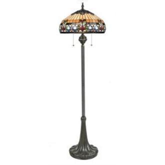 Quoizel Lighting TFBF9362VB Belle Fleur - Three Light Floor Lamp