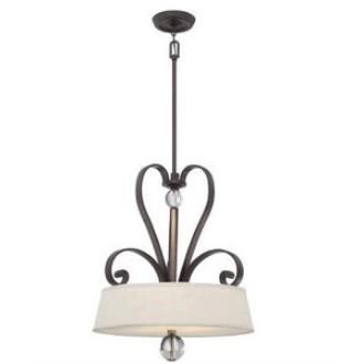 Quoizel Lighting UPMM2822WT Madison Manor - Four Light Pendant