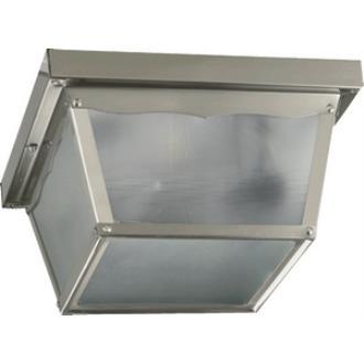 Quorum Lighting 3080-9-65 Two Light Outdoor Cage Flush Mount