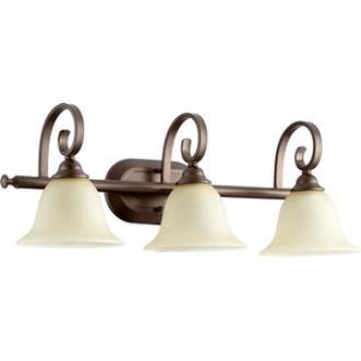 Quorum Lighting 5053-3-86 Celesta - Three Light Bath Bar