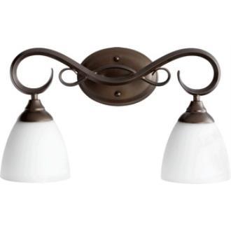Quorum Lighting 5108-2-86 Powell - Two Light Bath Bar