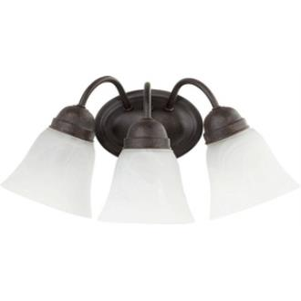 Quorum Lighting 5403-3-44 Three Light Wall Mount