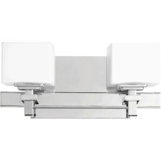 Quorum Lighting 5665-2-14 Two Light Square Wall Mount