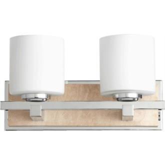 Quorum Lighting 5670-2-14 Travertine - Two Light Wall Mount