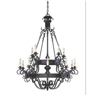Savoy House 1-4321-15-17 Bourges - Fifteen Light Chandelier