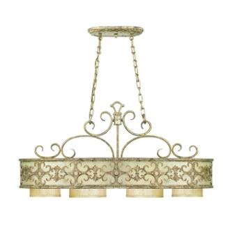 Savoy House 1-509-4-128 Savonia - Four Light Oval Chandelier
