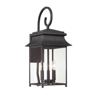 Savoy House 5-9541-25 Durham - Three Light Outdoor Wall Lantern
