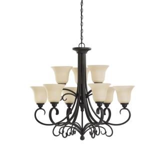 Sea Gull Lighting 31123-820 Del Prato - Nine Light Chandelier