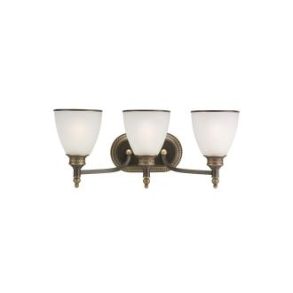 Sea Gull Lighting 44351-708 Laurel Leaf - Three Light Wall / Bath