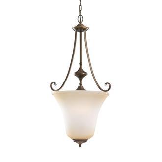 Sea Gull Lighting 59380BLE Parkview - Three Light Ceiling Fixture