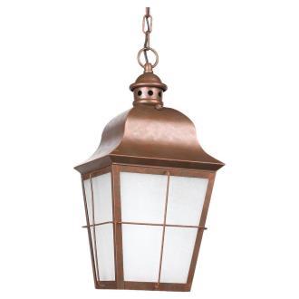 Sea Gull Lighting 69272PBLE Chatham - One Light Outdoor Pendant