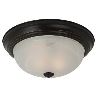 Sea Gull Lighting 75943BLE-782 Three Light Flush Mount