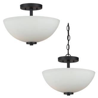 Sea Gull Lighting 77160BLE-839 Oslo - Two Light Semi-Flush Mount
