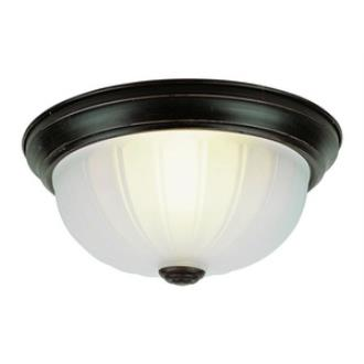 Trans Globe Lighting 14010-1 BN Value - One Light Flush-Mount - (Pack of 2)