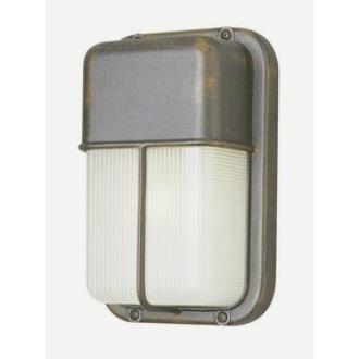 Trans Globe Lighting 41103 The Standard - One Light Outdoor Bulkhead