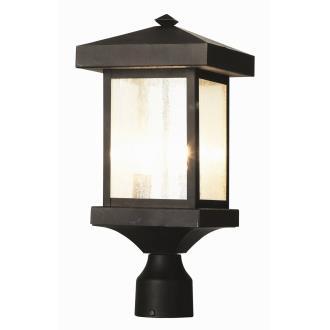 Trans Globe Lighting 45644 Two Light Outdoor Post Lantern