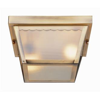 "Trans Globe Lighting 4902 The Standard - 9.25"" Square Flush Mount"