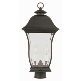 Trans Globe Lighting 4973 Classic - Two Light Outdoor Post Mount