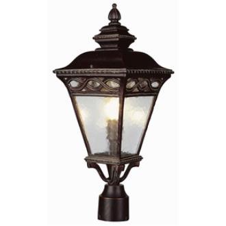 Trans Globe Lighting 50514-1 RT Braided - Three Light Post
