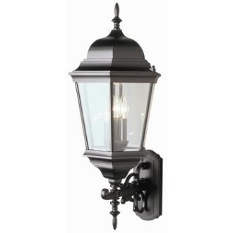 Trans Globe Lighting 51000 Three Light Outdoor Large Wall Lantern - Up