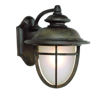 "Trans Globe Lighting LED-5850 DR LED - 10"" Outdoor Wall Lantern"