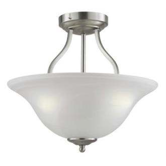 Trans Globe Lighting PL-10004 ES Traditional - Three Light Semi Flush Mount