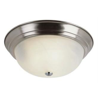 "Trans Globe Lighting PL-13619 AW Standard - Three Light 15"" Flush Mount"