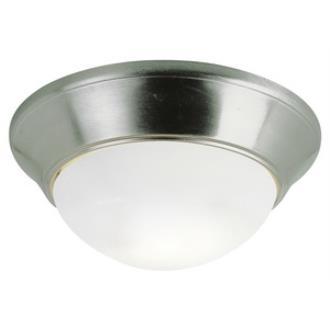 Trans Globe Lighting PL-57704 BN Two Light Flush Mount