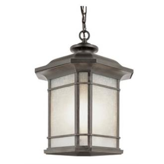 Trans Globe Lighting PL-5826 Corner Window - One Light Outdoor Hanging Lantern
