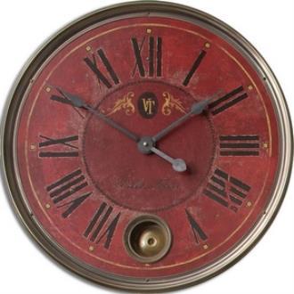 "Uttermost 06037 Regency Villa Tesio - 23"" Round Clock"