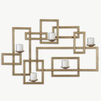 """Uttermost 12871 Brighton - 45"""" Wall Sconce"""