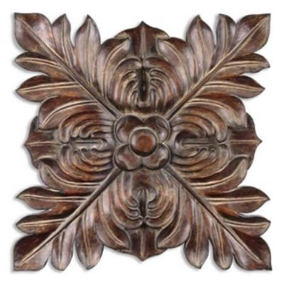 Uttermost 13530 Four Leaves Plaque - Decorative Wall Art