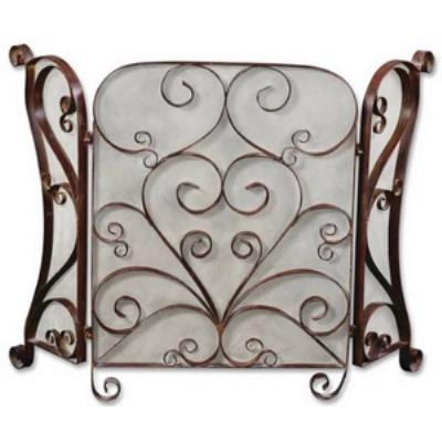 Uttermost 20278 Daymeion - Decorative Fireplace Screen