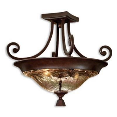 Uttermost 22209 Elba - Two Light Semi Flush Mount