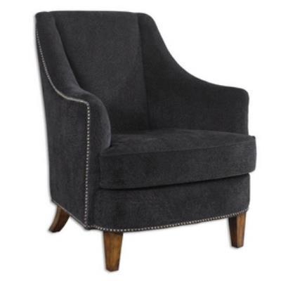 "Uttermost 23002 Nala - 38.5"" Midnight Arm Chair"