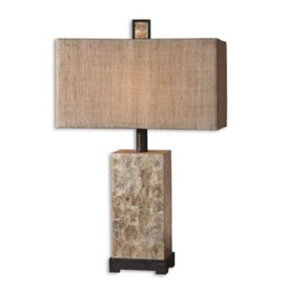 Uttermost 27347-1 Rustic Pearl - Table Lamp