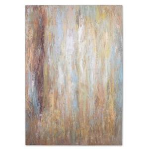 """Raindrops - 70"""" Abstract Wall Wall Art"""