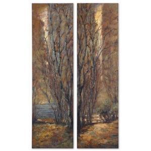 "Trees - 70"" Art Panel (Set of 2)"