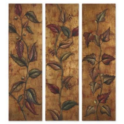 "Uttermost 32156 Climbing Vine Panels - 70"" Wall Art (Set of 3)"
