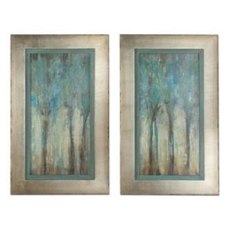 "Uttermost 41410 Whispering Wind - 35"" Decorative Wall Art - (Set of 2)"